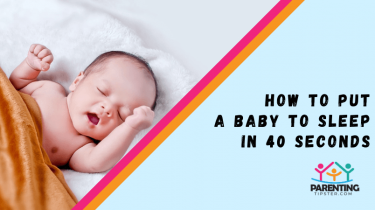 How To Put A Baby To Sleep In 40 Seconds