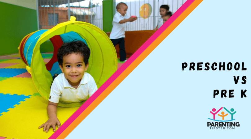 Preschool vs Pre K
